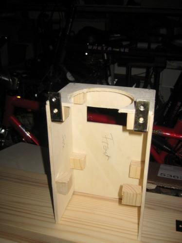 Bild 4: Gehäuse fertig zum Integrieren der Elektronik